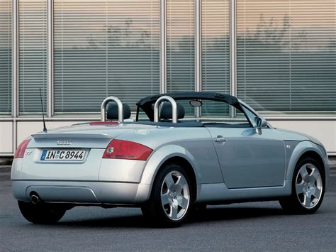 2001 Audi Tt Specs by 2001 Audi Tt Roadster 8n Pictures Information And