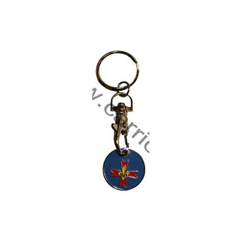 Porte Cle Jeton Caddie by Porte Cl 233 Jeton De Caddie Croix Scoute Carrick
