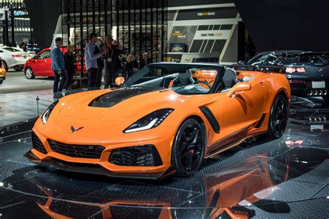 Auto Show 2019 : 2019 Corvette Zr1 Engine Will Not Have Active Fuel