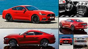 Ford Mustang GT (2015) - pictures, information & specs