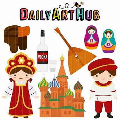Russian Culture Clip Hub Nature