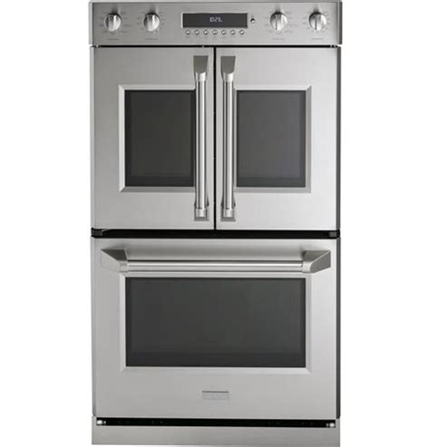 zetflss monogram  professional french door electronic convection double wall oven