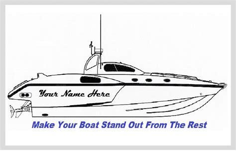 Boat Lettering Vinyl by Lovely Vinyl Boat Lettering Cover Letter Exles