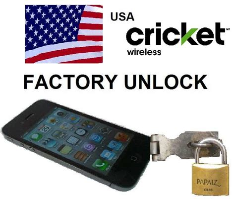 how to unlock cricket phone for free