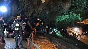 The Australian  U0026 39 Heroes U0026 39  Working On The Thai Cave Rescue