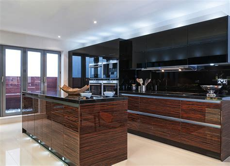 Urban Myth : More than a kitchen   Gloss Macassar Veneer