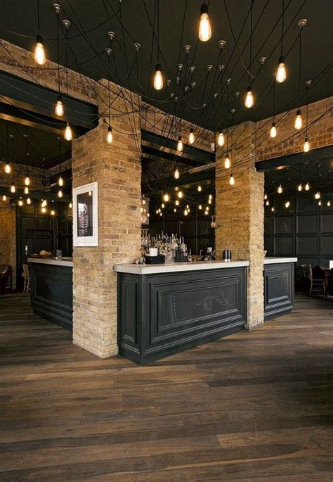 best 25 restaurant lighting ideas on bar