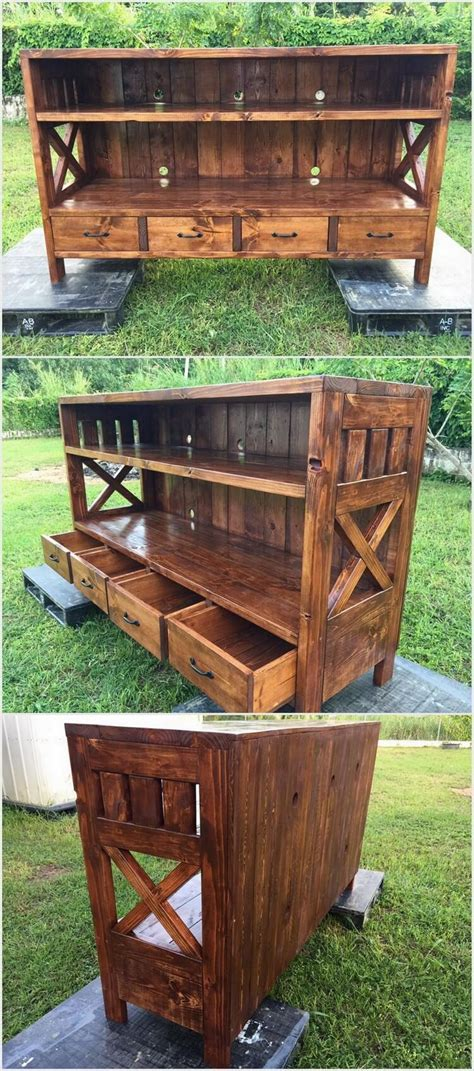 ideas  reuse   shipping pallets pallet wood projects