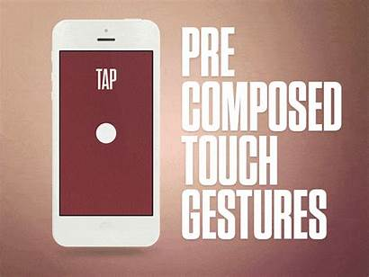 Touch Gestures App Precomposed Gesture Mobile Navigation