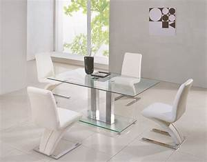 small glass dining tables With small glass top dining table