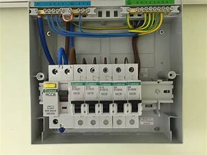 Garage Consumer Unit Wiring