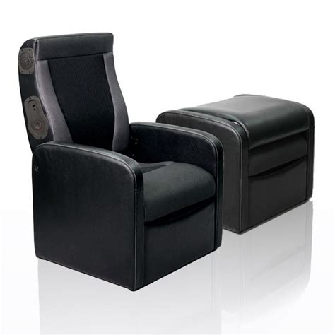 chair with storage ottoman gaming chair ottoman with express 2 0 speaker system