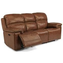 flexsteel latitudes fenwick power reclining sofa with