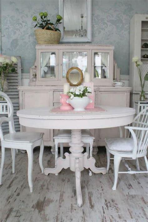 creer une cuisine dans un petit espace déco et meubles shabby chic dans la salle à manger