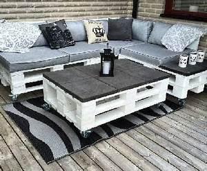 17 idees pour fabriquer une table basse palette salons With idee deco terrasse jardin 13 decoration salon zebre