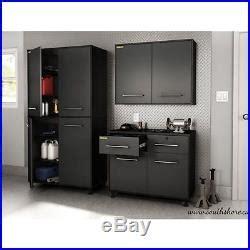 garage storage cabinets adjustable shelves sturdy plastic