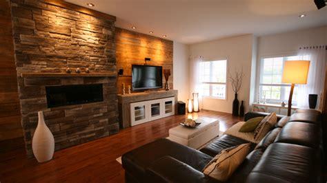 salon cuisine aire ouverte un salon rustique et contemporain style arcand casa