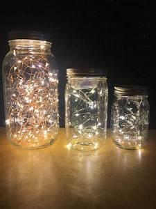 Glas Mit Lichterkette : lichterkette mason jar lampe gl hw rmchen leuchten led leuchten dekorative leuchten ~ Yasmunasinghe.com Haus und Dekorationen