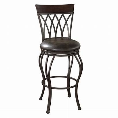 Leather Stools Bar Iron Swivel Wrought Chairs