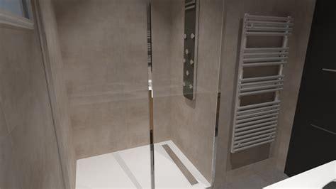 cuisiniste salle de bain salle de bain bois beige blanc gris avec italienne