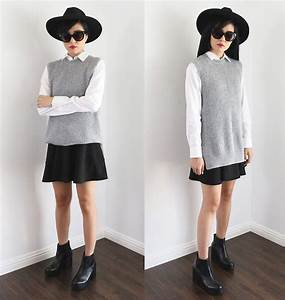 Outfit Ideas in Black White and Gray - Outfit Ideas HQ