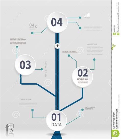 simple timeline infographics design stock vector