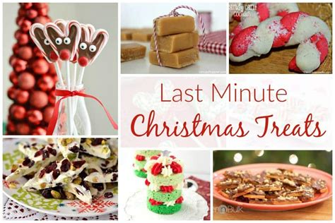 minute christmas treats  delicious dishes recipe party