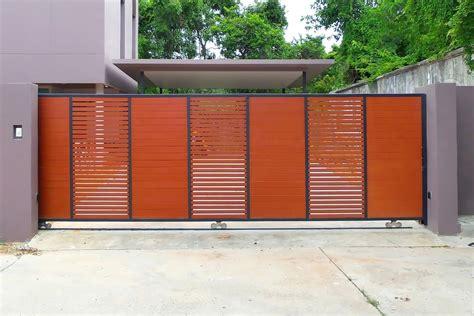 ide desain teras  model pagar terbaru   rumah