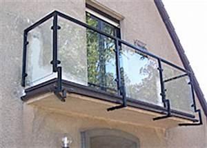 Balkongeländer Glas Anthrazit : balkone von pk stahl und metallbau ~ Michelbontemps.com Haus und Dekorationen