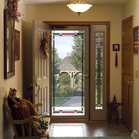 storm screen door larson provia doors cleveland columbus ohio innovate building solutions