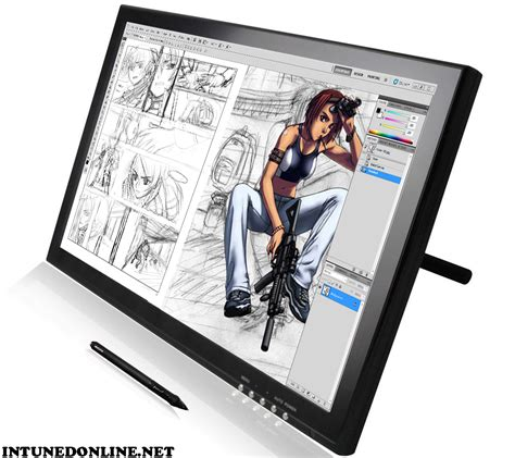 review   huion gt   tablet monitor