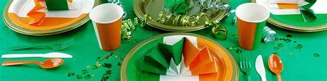 irish themed party supplies party delights
