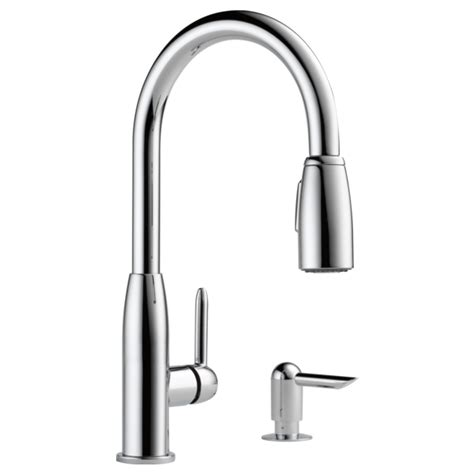 peerless kitchen faucet replacement hose p88103lf sd l kitchen single handle pull faucet