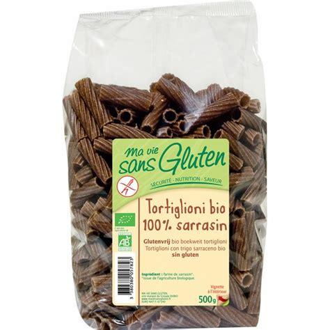 pates au sarrasin sans gluten p 226 tes tortiglioni au sarrasin ma vie sans gluten acheter sur greenweez