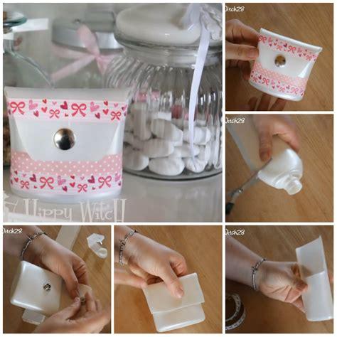 Riciclare Bicchieri Di Plastica by Astuccio Con I Flaconi Di Plastica Riciclati Tutorial
