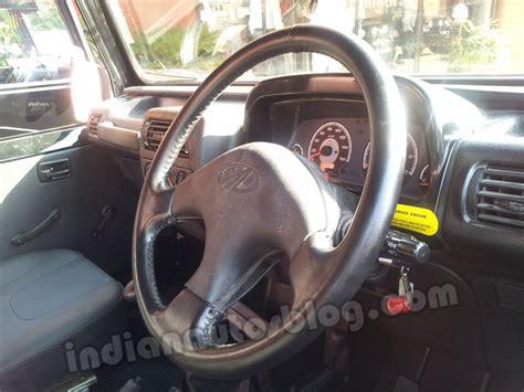 mahindra thar 2017 interior mahindra thar ac model interior indian autos blog