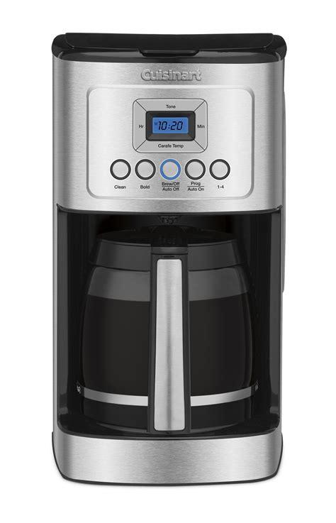 cuisinart dcc  perfectemp  cup programmable coffeemaker