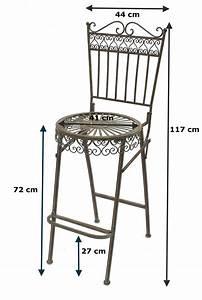 Gartenstuhl Metall Antik : dandibo barhocker metall klappbar 130415 barstuhl ~ Watch28wear.com Haus und Dekorationen