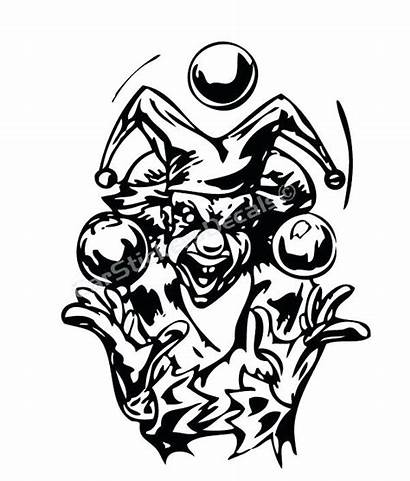 Coloring Clown Pages Insane Posse Icp Sticker