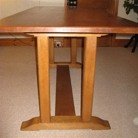 arts and crafts dining table heals oak arts crafts dining table 6 chairs 106454