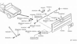 Wiring Diagram  27 2000 Nissan Frontier Parts Diagram