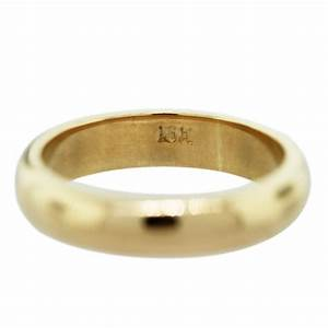 18k yellow gold men39s wedding band ring raymond lee jewelers for Mens wedding rings yellow gold