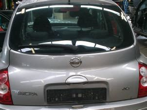 used nissan micra k12 1 5 dci 68 tailgate color code ky0