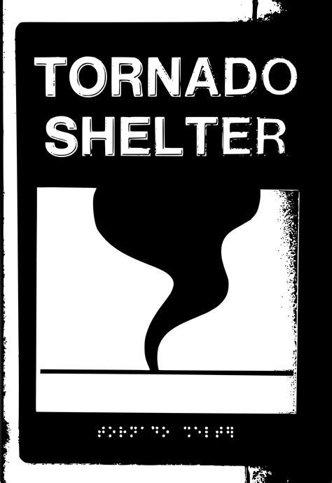 Tornado Shelter Clip Art