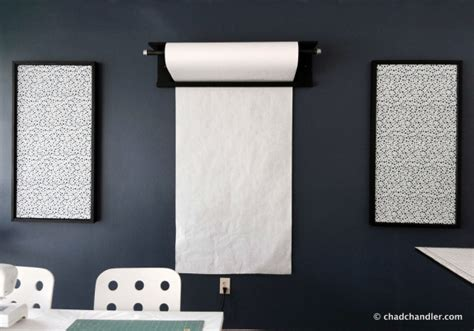 wall mounted butcher paper roll chad chandler