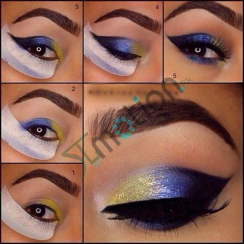 rock blue makeup   blue makeup ideas tutorials