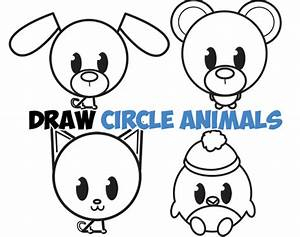 Cute Easy Animal Drawings Step By Step