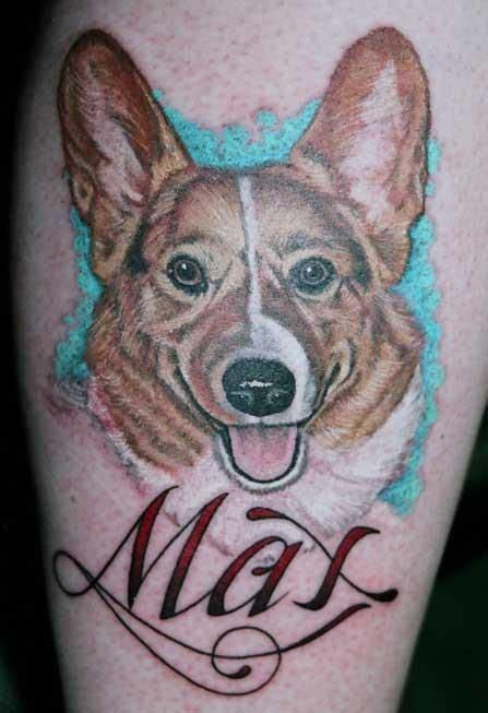 ideas  corgi tattoo  pinterest chest