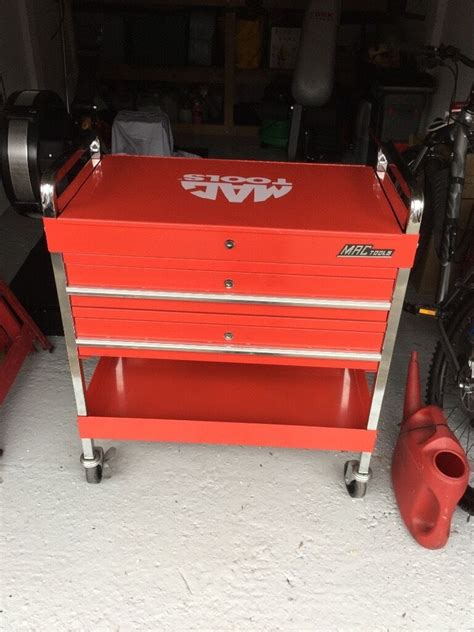 snap  mac tools service cart tool trolley mobile work