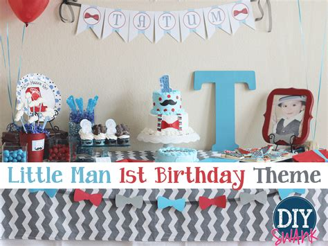 1st birthday party ideas for boys best on a boy party ideas and themes archives diy swank